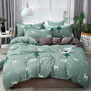 Home Textile Cartoon Polar Bear Bedding Sets Children's Beddingset Bed Linen Duvet Cover Bed Sheet Pillowcase