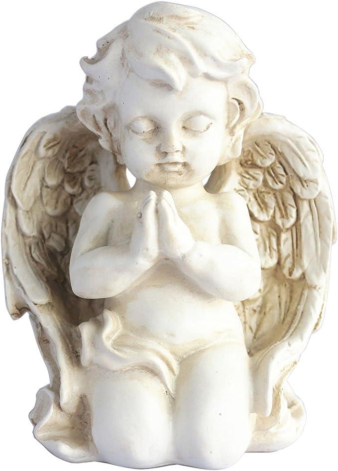 12 PCS 3 Ceramic,Ready to Paint Cherub,Praying Cherub,Keening Boy Figure,DIY ceramic u-paint Baby Angel