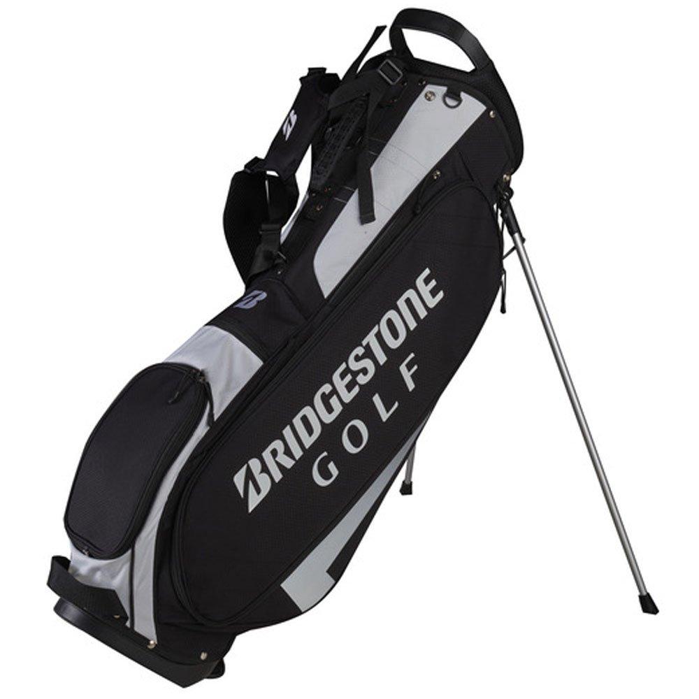 ブリヂストンLight Weightスタンドゴルフバッグ – 新しい2017 – 4 Way Top w / 5ポケット B072BBPTNR ブラック