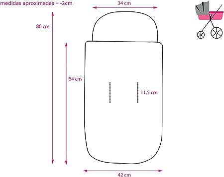 Saco POLAR para CUCO/CAPAZO Impermeable modelo 119 Azul