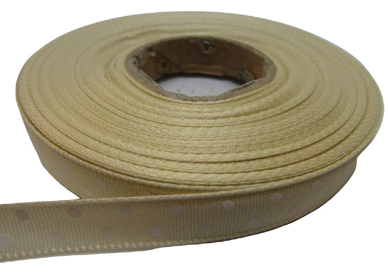 6mm Grosgrain Ribbon 2 metres or 20 metre roll double sided Ribbed UK VAT Reg