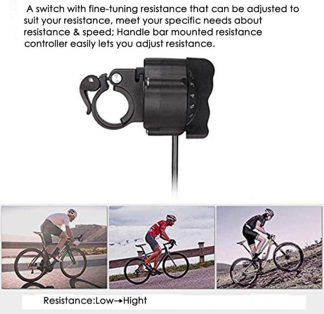 DPPAN Rodillo de Bicicleta, Entrenador de Bicicleta Ajustable con ...