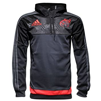 Munster 201516 Players Hooded Rugby Sweat