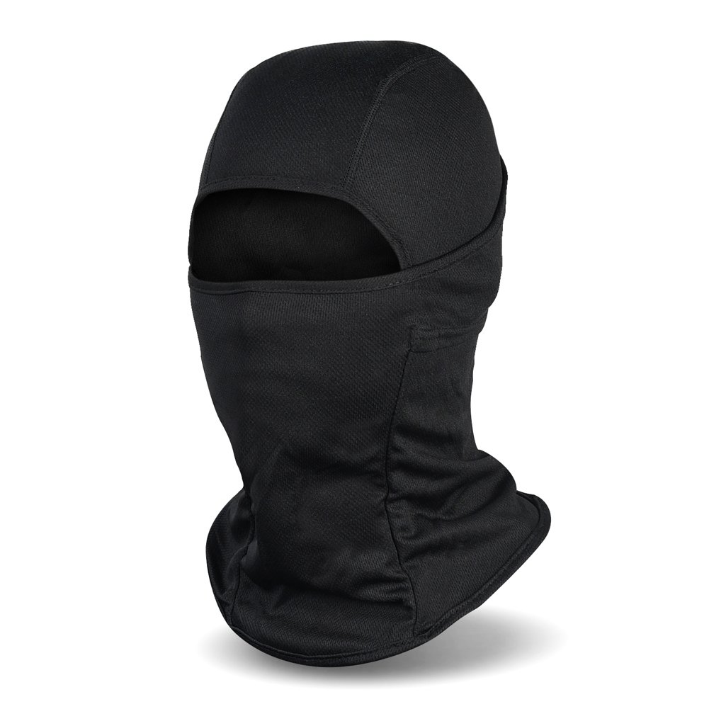 Magic Zone Balaclava Ski Mask, Winter nylon Windproof Face Mask for Men and Women Black