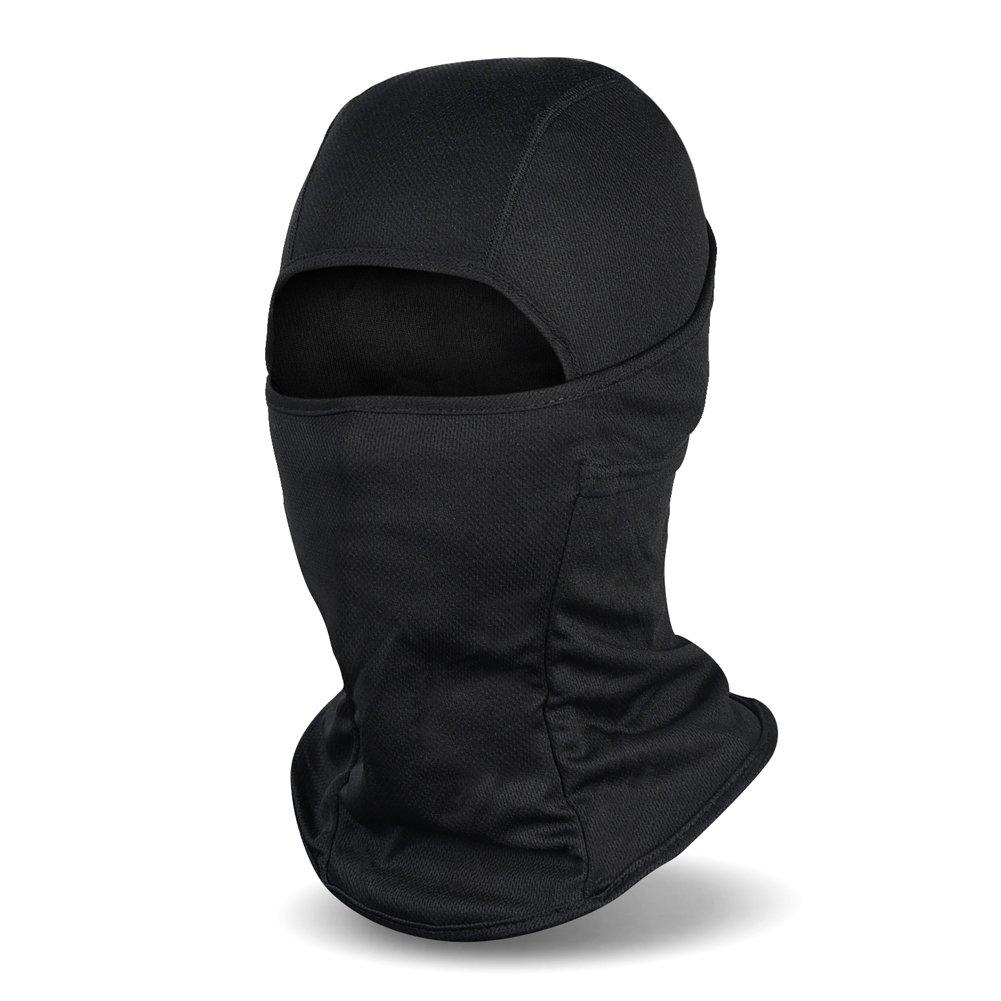 Balaclava Ski Mask, Winter Hat Windproof Face Mask for Men and Women, Black Balaclava-black-01