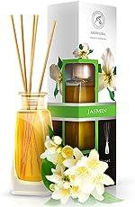 Aromatika Jasmine Reed Diffuser 3.4oz 100ml - Diffuser Gift Set -