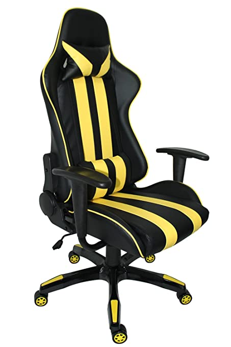 amazon com proht racing style gaming chair ergonomic office