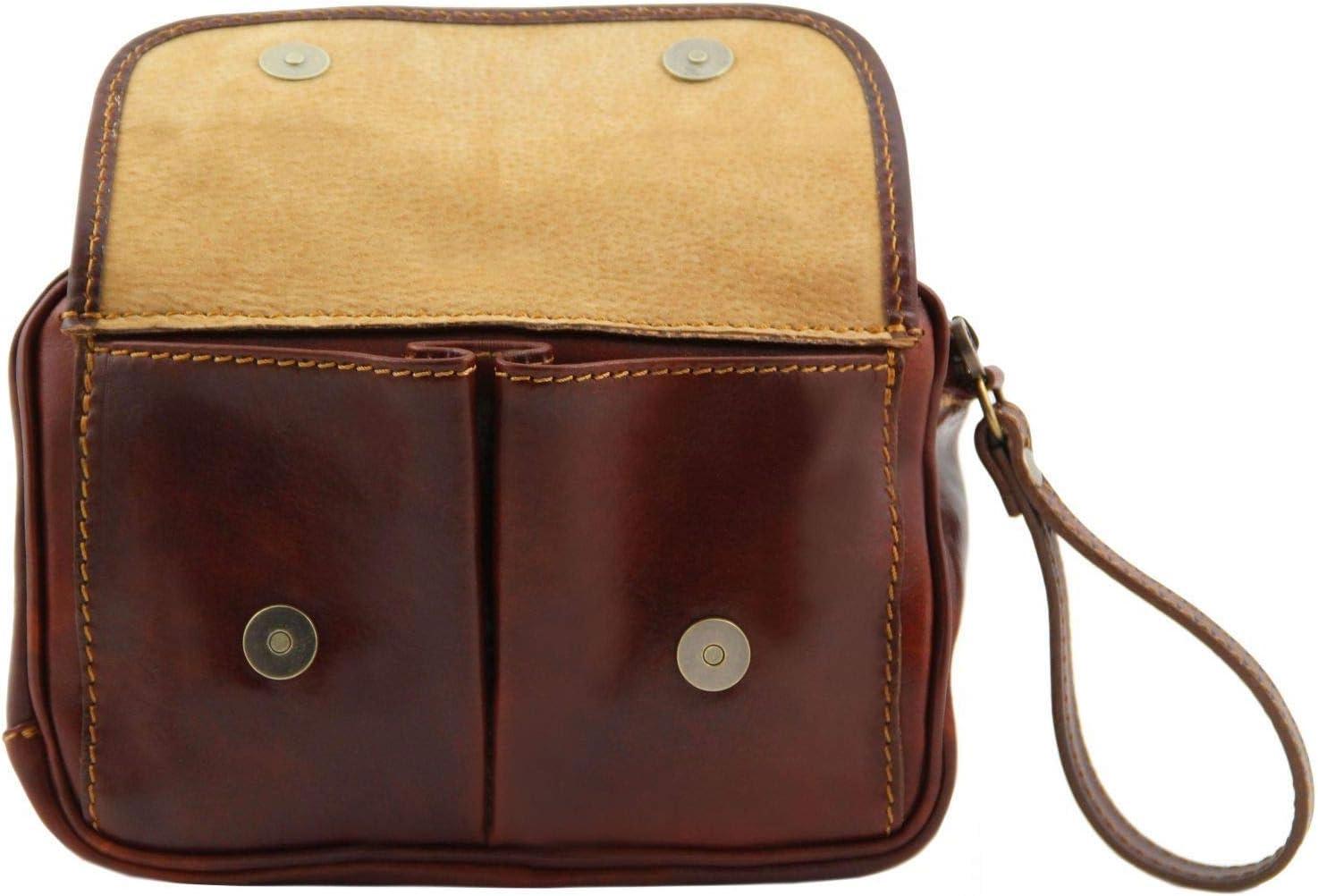 Tuscany Leather Ivan Borsello a mano in pelle Marrone