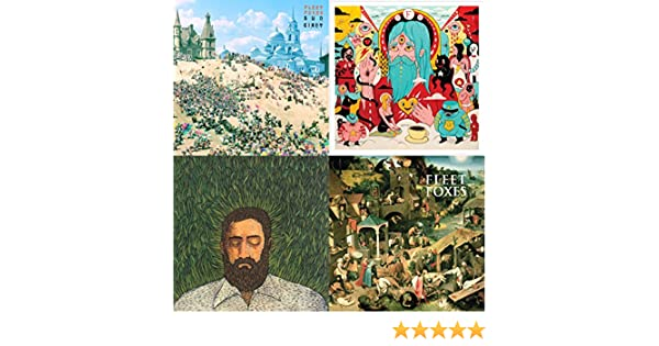 Fleet Foxes And More By Hey Marseilles Father John Misty Bon Iver