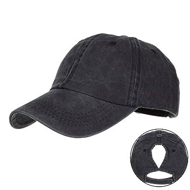 TWIFER Gorra de béisbol de algodón con Sombra de Sol para Hombre y ...