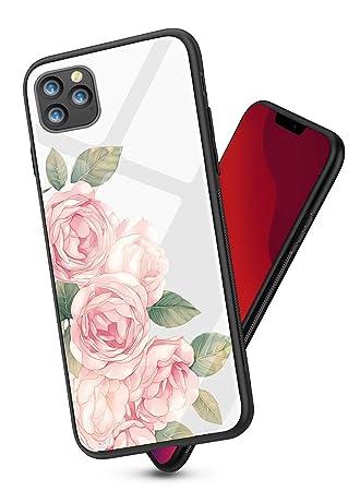 Oihxsetx - Carcasa de Vidrio Templado para iPhone 11 Pro MAX de 6 ...