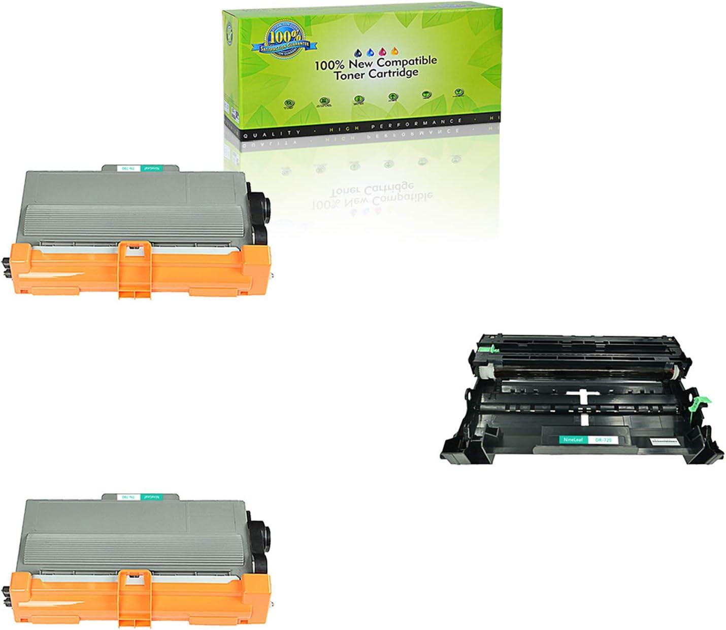 2PK High Yield Toner Cartridge TN780 TN-780 Fit Brother HL-6180DWT Printer