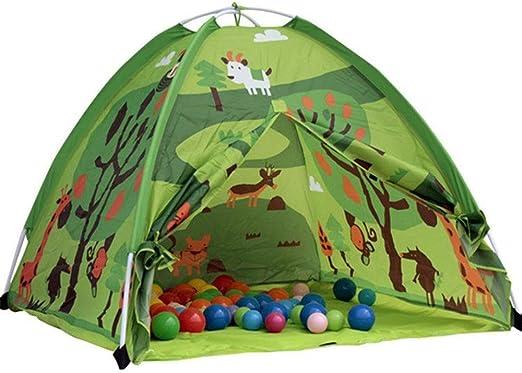 Juego De Niños Tienda De Interior Camping Al Aire Libre Casa De Juego Diseño De Camuflaje Juguetes De Jardín para Niñas Niños 3 4 5 Años De Edad,Green: Amazon.es: Jardín