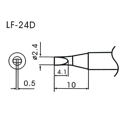 AOYUE WQ/LF-24D Puntas soldadura sin plomo Ø2.4mm x 0.5