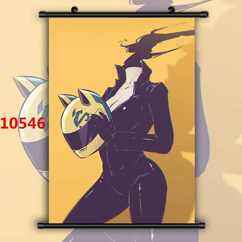 Celty Sturluson HD Canvas Print Wall Poster Scroll Room Decor DURARARA!