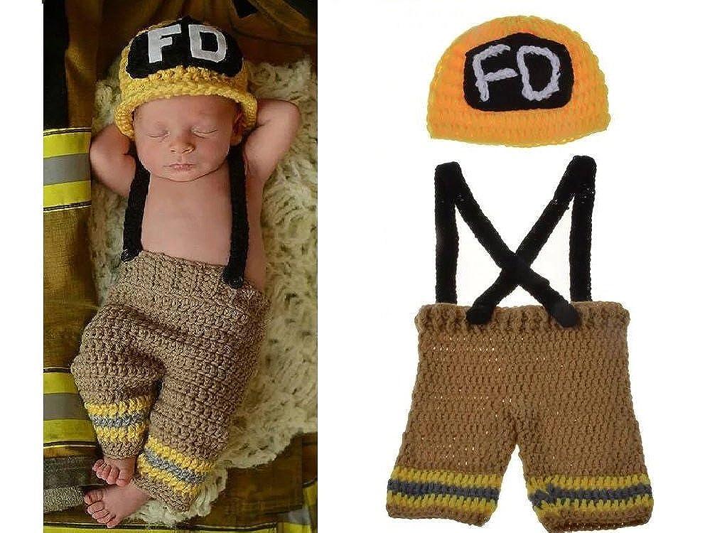 Matissa Neugeborenes Baby Mädchenjungen Häkeln Stricken Kostüm