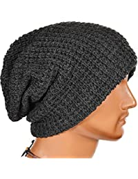 bae3a6ff477 Mens Slouchy Long Oversized Beanie Knit Cap for Summer Winter B08