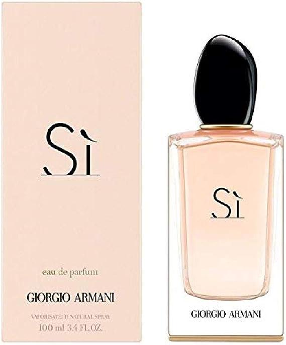 Armani Si Edp 100 ml: Amazon.es: Belleza