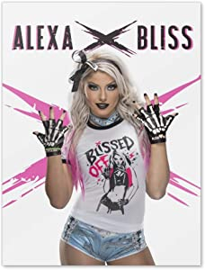GRAPHICS & MORE WWE Alexa Bliss Home Business Office Sign