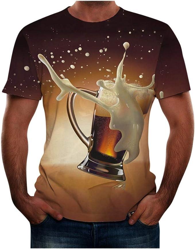 FELZ Día De San Patricio Camiseta para Hombre Cerveza Impresa ...