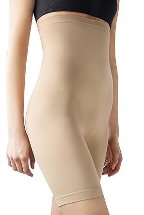 078de61e4 MD Women s Thigh Shapewear High Waist Mid Thigh Shaper Slimmer Power Shorts  Nudes
