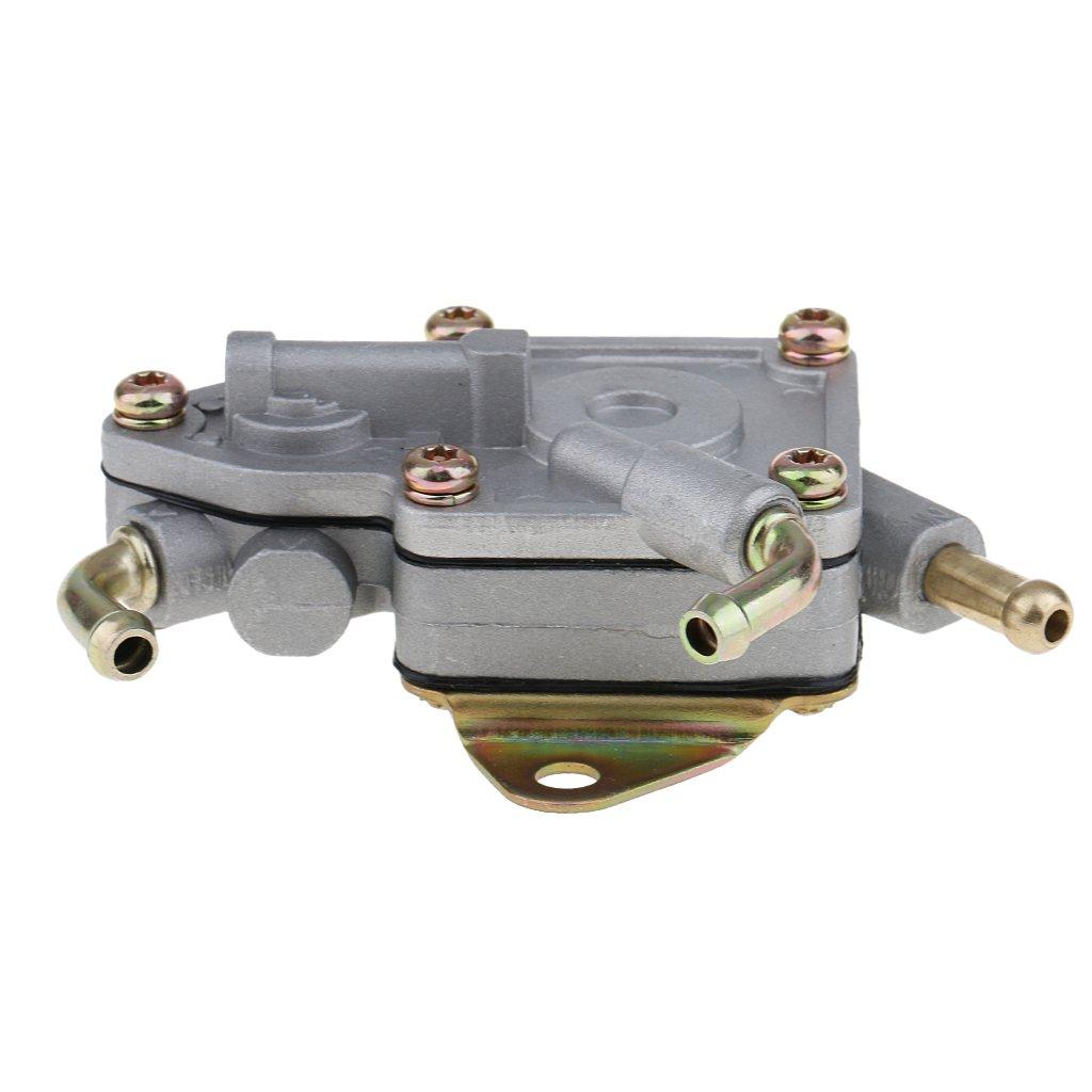 MagiDeal Vacuum Diaphragm Gasoline Fuel Pump for 2004-2009 Yamaha Rhino 660 450 5UG-13910-01-00