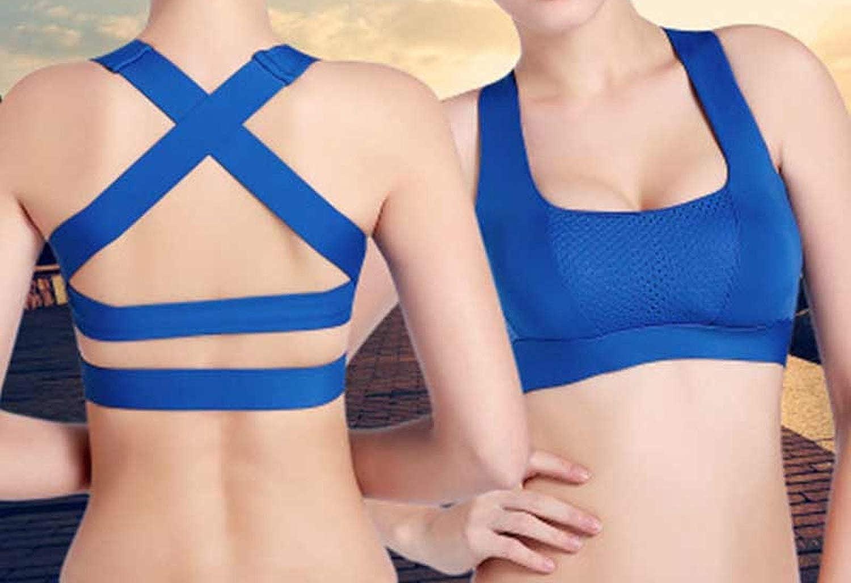 Women Sport Bar Shockproof Quick Dry Yoga Sport Bra Top Fitness Underwear Female Running Bar