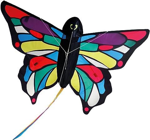Stylelove Bellissimo Aquilone Farfalla per Giochi allaperto attivit/à Aquilone a Linea Singola per Bambini Adulti Fly Kite Gigante per Bambini