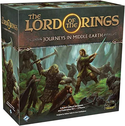 Juego de mesa Fantasy Flight Games Lord of the Rings: Journeys in Middle-Earth , color/modelo surtido: Amazon.es: Juguetes y juegos
