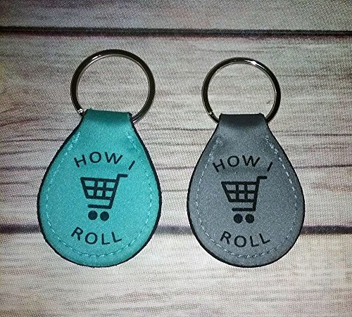 Dark Keeper Key (Quarter Keeper Key Chain Holder for Grocery Shopping)