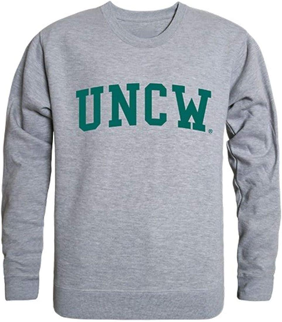 UNCW University of North Carolina Wilmington Game Day Crewneck Pullover Sweatshirt Sweater