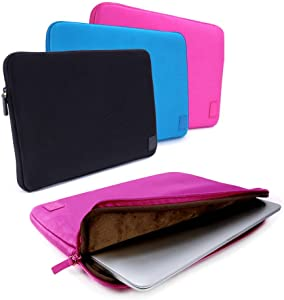 """Cub-Skinz Neoprene Protective Sleeve Case Cover (Pink) for 15"""" Laptop/Tablets/Ultrabooks Compatible with Dell inspiron 11Z/inspiron 13Z/Inspiron 15/inspiron 15Z/Studio 15/XPS M1530"""