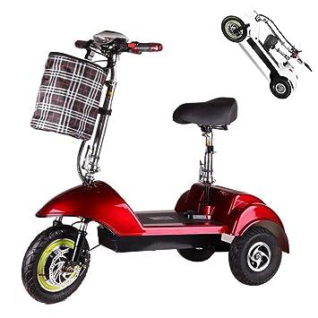 Triciclo eléctrico adulto,150 kg Carga máxima,Movilidad eléctrica ...