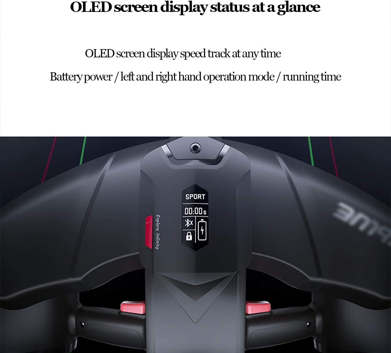 QQLK Underwater Professional Scooter of Electric 75 Minutes of Strong Battery Life,2 40M Extreme Water Depth Underwater Seascooter 2M//S Hydrostatic Speed