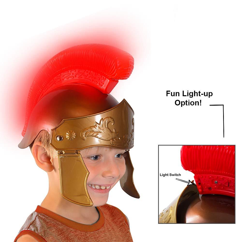 Amazon.com: Legión Romano Casco romano Soldier – Disfraces ...