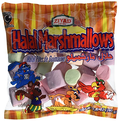 Ziyad Halal Marshmallows, Fruit, 8.82 Ounce - Flavored Marshmallows