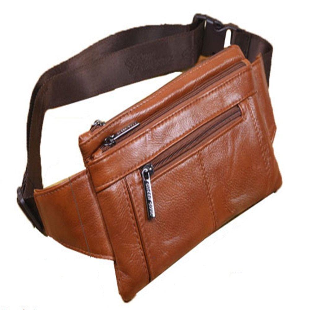 GSCSchuhe Laufen Gürtel Taille Gürteltasche für iPhone 7 8 Plus X Echtes Leder Crossbody Bagwaist Tasche