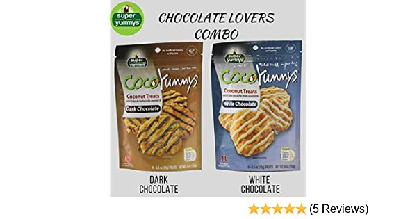 Amazon.com : Coco Yummys - 2 Bags (Chocolate Lovers Combo) : Grocery & Gourmet Food