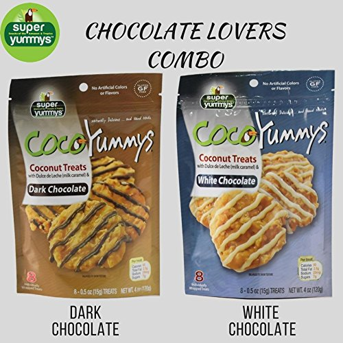 Amazon.com : Coco Yummys - 2 Bags (Choco-Coffee Combo) : Grocery & Gourmet Food