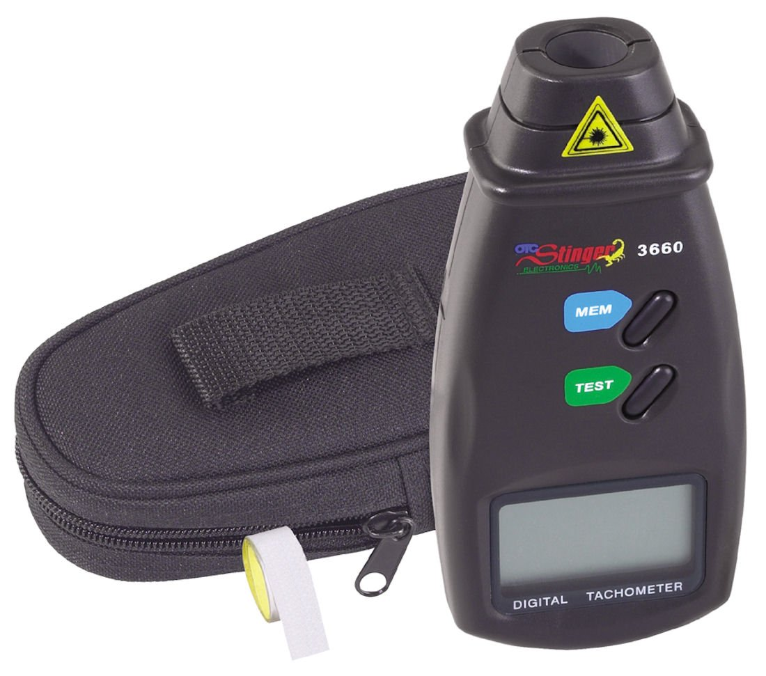 OTC 3660 Phototach Non-Contact Tachometer by OTC