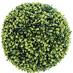 Catral Esfera Decorativa Boj Otoñal, Verde, 18 cm Altura, 72050001