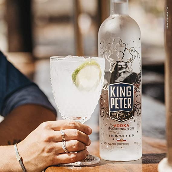 King Peter The Great Vodka Premium - 70 cl.