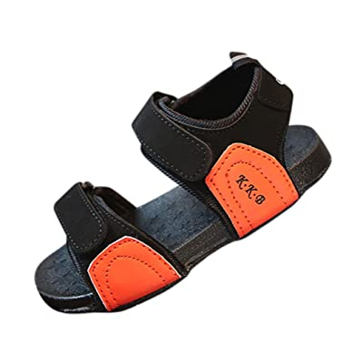 Sunbona Baby Boys Girls Beach Sandals Soft Sole Anti-Slip Summer Toddler Walking Sneaker Shoes
