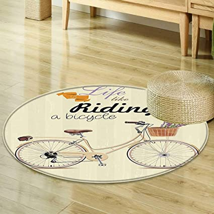 Amazon Com Mikihome Dining Room Home Bedroom Carpet Bicycle Decor
