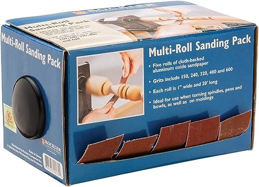 Sand paper rolls pen wood turning