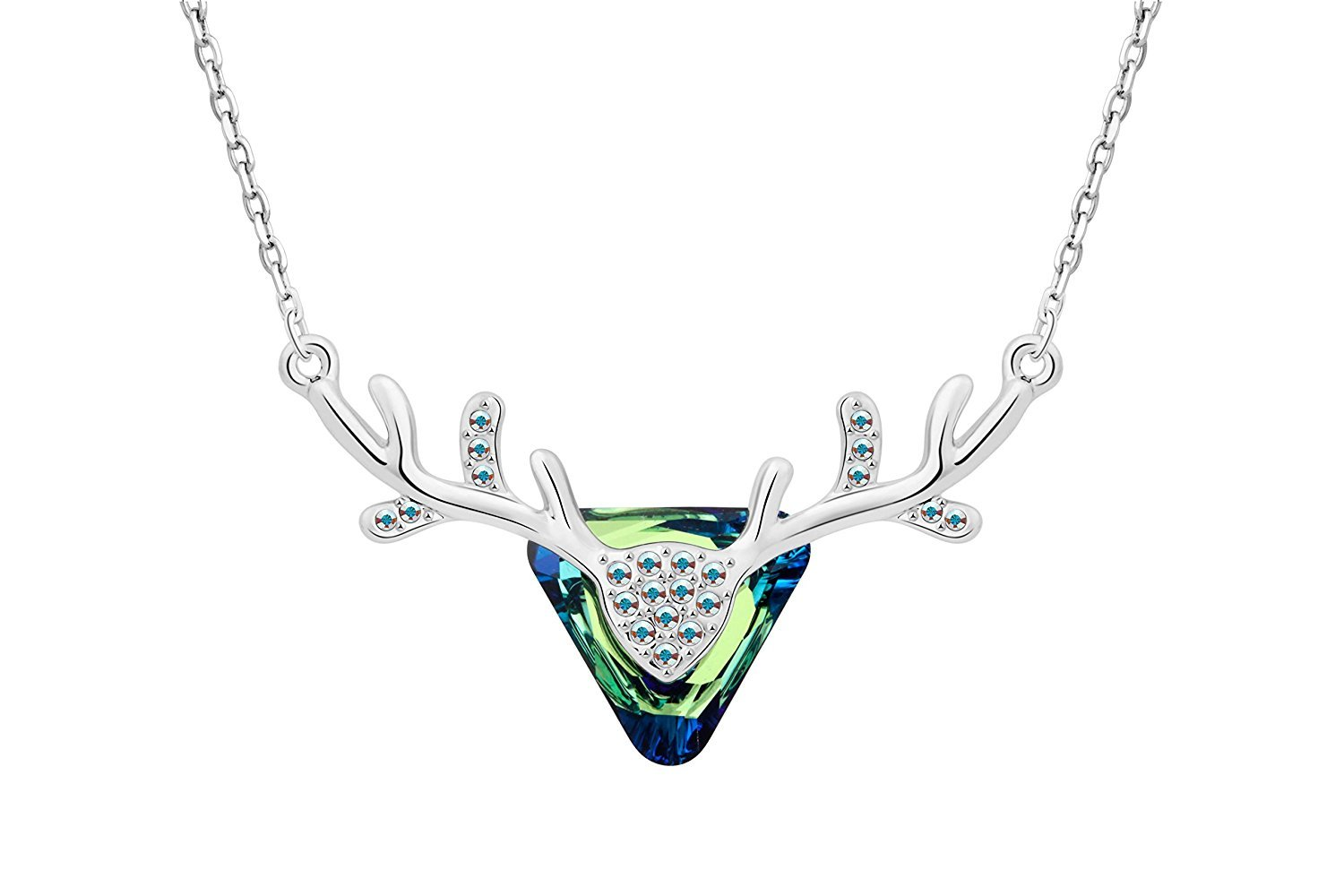 IUHA Elegant Oka Necklace made with Swarovski Crystal For Women Love Gift