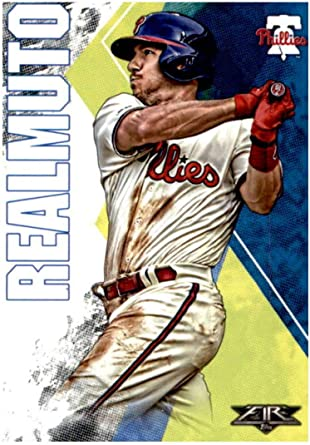 Amazon Com 2019 Topps Fire Baseball 190 J T Realmuto Philadelphia Phillies Official Mlb Trading Card Target Exclusive Collectibles Fine Art