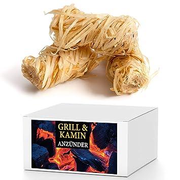 SaMore GmbH 15 kg eco Chimenea Cigarrillos Barbacoa Cigarrillos anzünd lana Madera lana Cigarrillos lana de encendido: Amazon.es: Productos para mascotas
