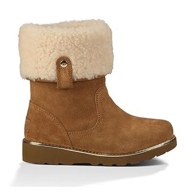 2d4dfc1bf4d UGG Australia Girls Callie Boot Chestnut Size 3 Little Kid: Amazon ...