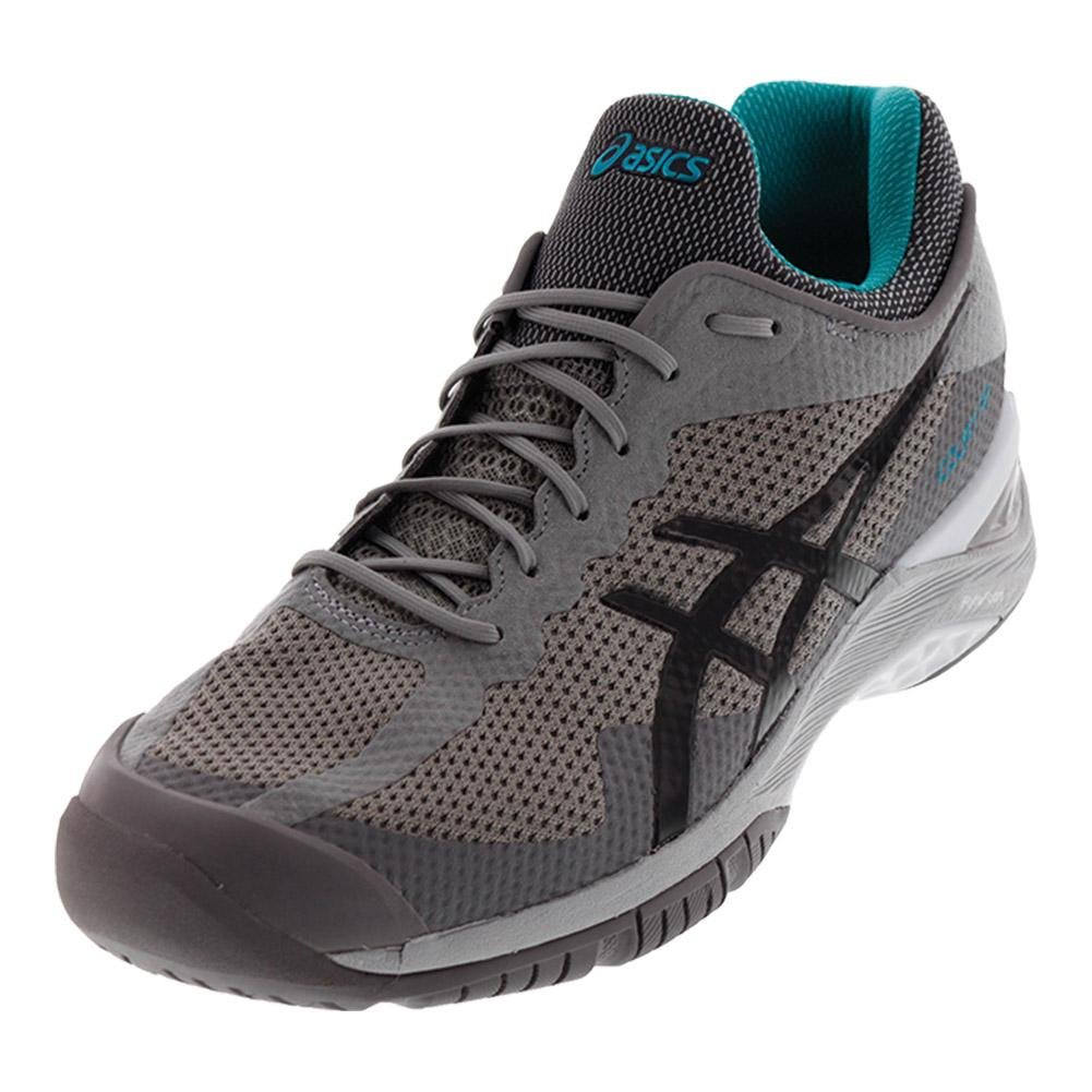 ASICS Gel-Court FF Tennis Shoe B0749B36Y9 9.5 B(M) US|Aluminum/Dark Grey/Lapis